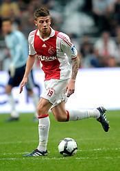 25-04-2010 VOETBAL: AJAX - FEYENOORD: AMSTERDAM<br /> De eerste wedstrijd in de bekerfinale is gewonnen door Ajax met 2-0 / Toby Alderweireld<br /> ©2010-WWW.FOTOHOOGENDOORN.NL