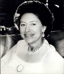 Aug. 21, 1980 - Princess Margaret .50. Princess Margaret celebrates her 50th birthday on 21st August 1980. HRH is pictured at Kensington Palace, London. She is wearing a white dress and cloak. (Credit Image: © Keystone Press Agency/Keystone USA via ZUMAPRESS.com)