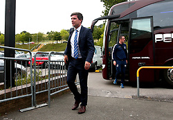 Bristol Rovers manager Darrell Clarke arrives at Adam's Park for the Checkatrade Trophy Match against Wycombe Wanderers - Mandatory by-line: Robbie Stephenson/JMP - 29/08/2017 - FOOTBALL - Adam's Park - High Wycombe, England - Wycombe Wanderers v Bristol Rovers - Checkatrade Trophy