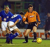 Fotball - Nationwide Division 1 - 21.12.2002<br /> Milwall v Wolves <br /> Kenny Miller - Wolves<br /> Foto: Roger Parker, Digitalsport