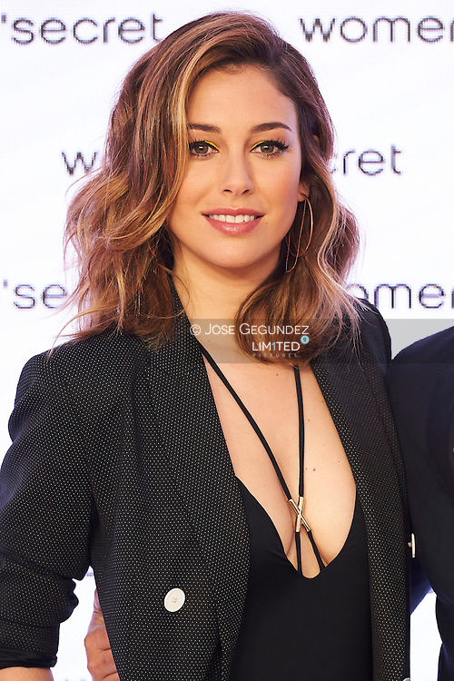 Blanca Suarez attends a photocall as new image of Women's Secreat 'My Secret Dream' at Showroom Women's Secret on April 20, 2016 in Madrid