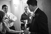 Melissa and Jordan Bencomo celebrate their wedding with family and friends at Silver Legacy Resort & Casino in Reno, Nevada, on April 5, 2014. (Stan Olszewski/SOSKIphoto)
