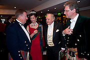 DAVID REID; IONA DUCHESS OF ARGYLL; DR. LARS AHRELL; VISCOUNT DUPPLIN, 2009 Royal Caledonian Ball in aid of various Scottish charities , Great Room, Grosvenor House. London. 1 May 2009.