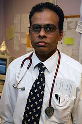 Portrait of Hospital doctor,