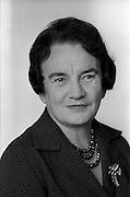 09/09/1964<br /> 09/09/1964<br /> 09 September 1964<br /> Máiréad Ní Ghráda, playwright pictured at Brown and Nolan Ltd., Clonskeagh, Dublin.