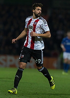 Football - 2016 / 2017 FA Cup - Third Round: Brentford vs. Eastleigh<br /> <br /> Yoann Barbet of Brentford  at Griffin Park.<br /> <br /> COLORSPORT/DANIEL BEARHAM