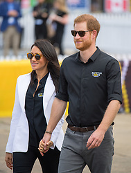 File photo dated 21/10/18 of the Duke and Duchess of Sussex attending the Invictus Games Jaguar Land Rover Driving Challenge, on Cockatoo Island, Sydney, on the fifth day of the royal couple's visit to Australia. The royal couple have issued a personal message on their future.