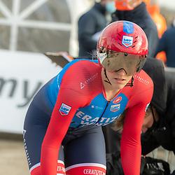 11-03-2021: Wielrennen: Healthy Ageing Tour: Lauwersoog. <br />Franziska Brausse