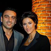 NLD/Amsterdam/20101115 - Life after Football lifestyle Fair 2010, Kris Bozilovic en partner Tamar Gonen
