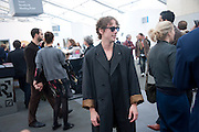 JOHNNIE BORRELL; Opening of Frieze 2009. Regent's Park. London. 14 October 2009 *** Local Caption *** -DO NOT ARCHIVE-© Copyright Photograph by Dafydd Jones. 248 Clapham Rd. London SW9 0PZ. Tel 0207 820 0771. www.dafjones.com.<br /> JOHNNIE BORRELL; Opening of Frieze 2009. Regent's Park. London. 14 October 2009
