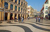 Chine, Macao, Largo de Senado // China, Macau, Largo de Senado