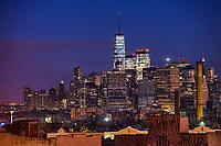 Lower Manhattan @ Blue Hour
