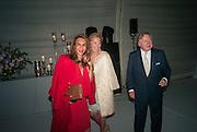 PARMESH GODREJ; EVA O'NEILL; SIR ANTONY BAMFORD, CARTIER CHELSEA FLOWER SHOW DINNER Dinner hosted by Cartier in celebration of the Chelsea Flower Show was held at Battersea Power Station. 22 May 2012