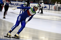 February 8, 2019 - Torino, Italia - Foto LaPresse/Nicolò Campo .8/02/2019 Torino (Italia) .Sport.ISU World Cup Short Track Torino - Mixed Gender Relay Heats.Nella foto: Tommaso Dotti..Photo LaPresse/Nicolò Campo .February 8, 2019 Turin (Italy) .Sport.ISU World Cup Short Track Turin - Mixed Gender Relay Heats .In the picture: Tommaso Dotti (Credit Image: © Nicolò Campo/Lapresse via ZUMA Press)