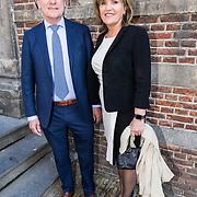 NLD/Naarden/20190419 - Matthaus-Passion in de grote kerk van Naarden, Gerlach Cerfontaine en partner Pia Dijkstra