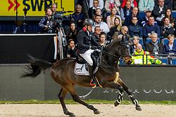 BRINKMANN Markus (GER), Pikeur Dylon<br /> Stuttgart - German Masters 2019<br /> LONGINES FEI Jumping World Cup™ 2019/2020<br /> Großer Preis von Stuttgart mit Mercedes-Benz, WALTER solar und BW-Bank<br /> Int. Springprüfung mit Stechen - CSI5*-W<br /> Qualifikation zum Weltcup Finale<br /> 17. November 2019<br /> © www.sportfotos-lafrentz.de/Stefan Lafrentz