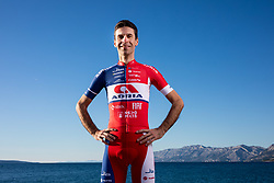 Radoslav Rogina during official photo session of Continental Team - Adria Mobil Cycling before new season 2020, on January 30, 2020 in Makarska, Croatia. Photo by Vid Ponikvar / Sportida