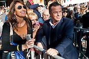 Raffaele Bonanno in Piazza Maggiore durante la Mnifeistazione Liberiamoci e ripartiamo<br /> 8 novembre 2015 . Daniele Stefanini /  OneShot