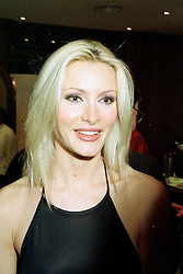 Model CAPRICE BOURRET at a fashion show in London on April 30th 1997.LYA 53