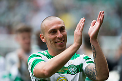 Celtic's Scott Brown during the testimonial match at Celtic Park, Glasgow.