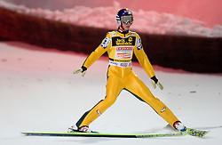 Gregor Schlierenzauer of Austria competes during Second round of the FIS Ski Jumping World Cup event of the 58th Four Hills ski jumping tournament, on January 6, 2010 in Bischofshofen, Austria. (Photo by Vid Ponikvar / Sportida)