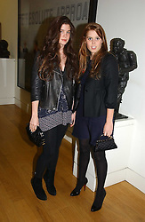 Left to right, ALEX CRONAN and PRINCESS BEATRICE OF YORK at the opening of an exhibition entitled Exceptional Youth supported by Teen Vogue at the National Portrait Gallery, London on 3rd November 2006.<br /><br />NON EXCLUSIVE - WORLD RIGHTS