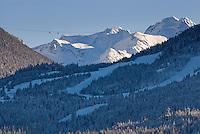 The Peak to Peak Gondola opened in December, 2008 in Whistler, BC