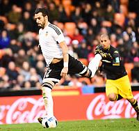 Valencia's  Alvaro Negredo  during Spanish King's Cup match. January 6, 2016. (ALTERPHOTOS/Javier Comos)