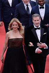 File photo - John Travolta and Kelly Preston attending Solo: A Star Wars Story Premiere held at the Palais des Festivals as part of the 71st annual Cannes Film Festival on May 15, 2018 in Cannes, France. Kelly Preston, the actress married to John Travolta, has died after a private battle with breast cancer, aged 57. The actress had been battling against breast cancer for two years, with a family representative confirming news of her passing to People today. Photo by Aurore Marechal/ABACAPRESS.COM