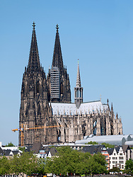The famous Dom or Cathedral in Cologne Germany