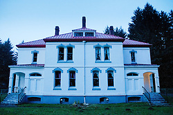 Lightkeeper's Residence on North Head at Cape Disappointment State Park, Ilwaco, Washington, US