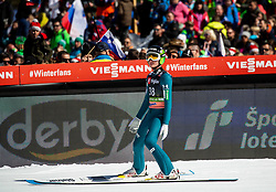 Anze Lanisek (SLO) during the Trial Round of the Ski Flying Hill Individual Competition at Day 1 of FIS Ski Jumping World Cup Final 2019, on March 21, 2019 in Planica, Slovenia. Photo by Vid Ponikvar / Sportida