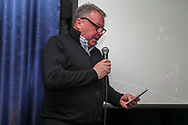 AFC Wimbledon manager Wally Downes during the EFL Sky Bet League 1 match between AFC Wimbledon and Accrington Stanley at the Cherry Red Records Stadium, Kingston, England on 6 April 2019.