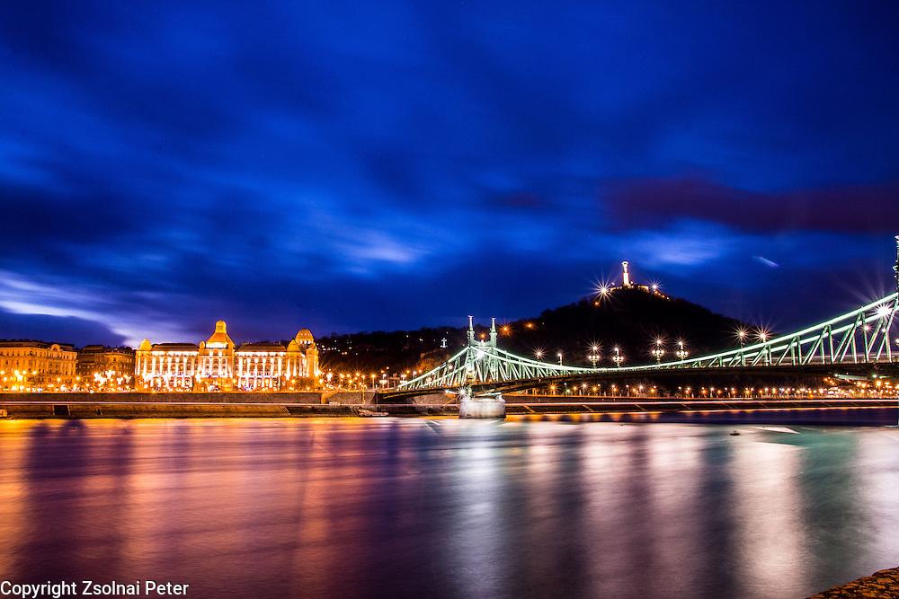View of Danube with Liberty Bridge