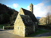 St Kevin's Church img2, Glendalough, Wicklow,  c.12th century a.d,