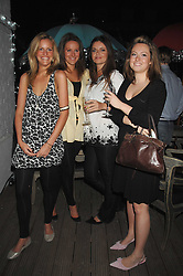 Left to right, ELIZABETH ACLAND, KATHERINE ACLAND, LADY NATASHA RUFUS-ISAACS and ELLIE STREET at a party to launch the new upstairs area of Mamilanji, 107 Kings Road, London SW3 on 19th April 2007.<br /> <br /> NON EXCLUSIVE - WORLD RIGHTS