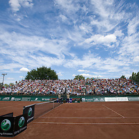 Gaz de France Suez WTA tour Grand Prix international women tennis competition held at Roman Tennis Academy.