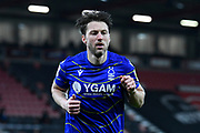 Harry Arter (31) of Nottingham Forset during the EFL Sky Bet Championship match between Bournemouth and Nottingham Forest at the Vitality Stadium, Bournemouth, England on 24 November 2020.