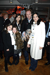 SIMON & YASMIN MILLS with their daughters MADDIE & LAUREN and a friend COCO MUSGRAVE at a party to celebrate the launch of the new Fiat 500 car held at the London Eye, Westminster Bridge Road, London on 21st January 2008.<br /><br />NON EXCLUSIVE - WORLD RIGHTS (EMBARGOED FOR PUBLICATION IN UK MAGAZINES UNTIL 1 MONTH AFTER CREATE DATE AND TIME) www.donfeatures.com  +44 (0) 7092 235465