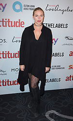 Samantha Womack attends the Attitude Pride Awards 2016 at The Grand At Trafalgar Square, central London. Monday October 10, 2016. Photo credit should read: Isabel Infantes / EMPICS Entertainment.
