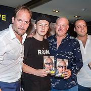 NLD/Rotterdam/20160914 - Boekpresentatie Gijp, Michel van Egmond, Nicky van der Gijp, Rene van der Gijp en Sandy van der Gijp