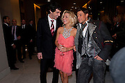 ALEX GAUMOND; SHERIDAN SMITH; JILL HALFPENNY; DUNCAN JAMES, , Savoy Theatre's Legally Blonde- The Musical,  Gala night. After-party at the Waldorf Hilton. London. 13 January 2010. *** Local Caption *** -DO NOT ARCHIVE-© Copyright Photograph by Dafydd Jones. 248 Clapham Rd. London SW9 0PZ. Tel 0207 820 0771. www.dafjones.com.<br /> ALEX GAUMOND; SHERIDAN SMITH; JILL HALFPENNY; DUNCAN JAMES, , Savoy Theatre's Legally Blonde- The Musical,  Gala night. After-party at the Waldorf Hilton. London. 13 January 2010.