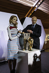 FIFA Russia 2018 World Cup trophy and his Louis Vuitton official case - 18 May 2018