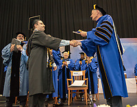 Georgian Court University held its annual commencement at the RWJ Barnabas Health Arena in Toms River on Thursday, May 24, 2018. / Russ DeSantis Photography and Video, LLC