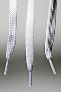 various white shoestrings