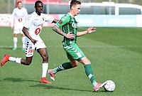 Fotball , 31. januar 2018 , privatkamp , Odd - Odense<br /> Bilal Njie ,Odd<br /> Jacob Laursen , Odense