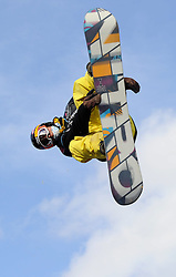 29.10.2011, Battersea Power Station, London GBR, FIS Snowboard Worldcup, Relentless Freeze Festival, im Bild FIS Heat 2, Viktor SZIGETI of HUN // during FIS Snowboard Worldcup at Relentless Freeze Festival in London, United Kingdom on 29/10/2011. EXPA Pictures © 2011, PhotoCredit: EXPA/ TNT Sports/ Nick Tapsell +++++ ATTENTION - OUT OF ENGLAND/GBR +++++