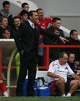 Photo: Richard Lane/Richard Lane Photography. Nottingham Forest v Birmingham City. Coca Cola Championship. 08/11/2008. Colin Calderwood on the touchline