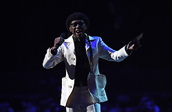 Nile Rodgers during the 2018 BRIT Awards show, held at the O2 Arena, London. EDITORIAL USE ONLY. PRESS ASSOCIATION Photo. Picture date: Wednesday February 21, 2018. See PA Story SHOWBIZ Brits. Photo credit should read: Victoria Jones/PA Wire.
