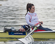 Caversham. Berkshire. UK<br /> Bow. Grace CLOUGH and Cox. Oliver JAMES.<br /> 2016 GBRowing, Para Rowing Media Day, UK GBRowing Training base near Reading, Berkshire.<br /> <br /> Friday  15/04/2016<br /> <br /> [Mandatory Credit; Peter SPURRIER/Intersport-images]